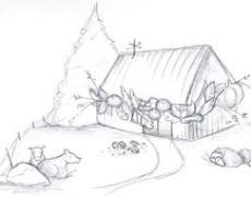 La ferme rustique